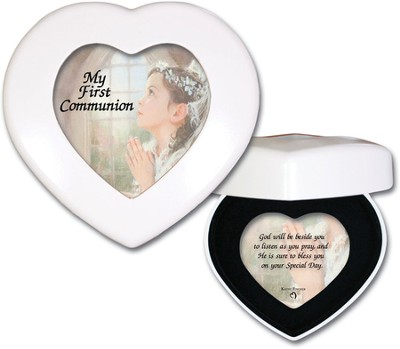 My First Communion, Heart Music Box, Girl  -