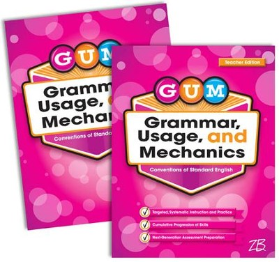 Zaner-Bloser GUM Grade 3: Student & Teacher Editions (Homeschool Bundle)  -