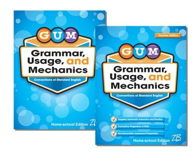Zaner-Bloser GUM Grade 4: Student & Teacher Editions (Homeschool Bundle)  -