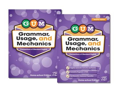 Zaner-Bloser GUM Grade 6: Student & Teacher Editions (Homeschool Bundle)  -