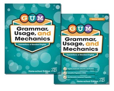 Zaner-Bloser GUM Grade 7: Student & Teacher Editions (Homeschool Bundle)  -