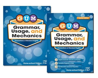 Zaner-Bloser GUM Grade 8: Student & Teacher Editions (Homeschool Bundle)  -
