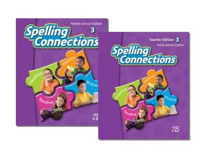 Zaner-Bloser Spelling Connections Grade 3: Student & Teacher Editions (Homeschool Bundle)  -