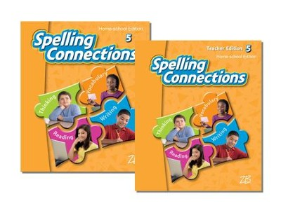 Zaner-Bloser Spelling Connections Grade 5: Student & Teacher Editions (Homeschool Bundle)  -