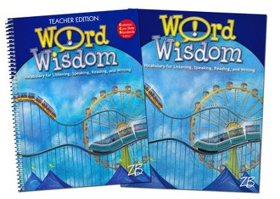 Zaner-Bloser Word Wisdom Grade 6: Student & Teacher Editions (Homeschool Bundle)  -