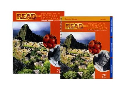 Zaner-Bloser Read for Real Level E: Student & Teacher Editions (Homeschool Bundle)  -