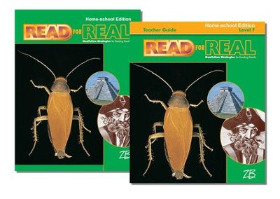 Zaner-Bloser Read for Real Level F: Student & Teacher Editions (Homeschool Bundle)  -