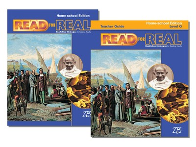 Zaner-Bloser Read for Real Level G: Student & Teacher Editions (Homeschool Bundle)  -