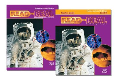 Zaner-Bloser Read for Real Level H: Student & Teacher Editions (Homeschool Bundle)  -