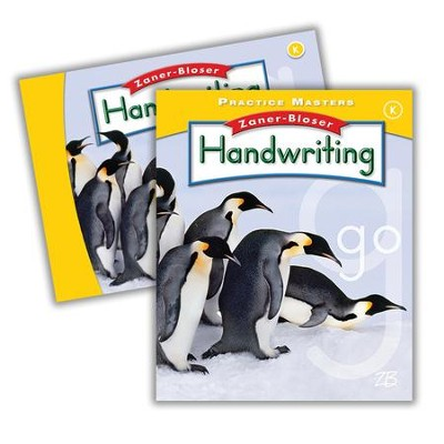 Zaner-Bloser Handwriting Grade K: Student Edition & Practice Masters (Homeschool Bundle -- 2016 Edition)  -