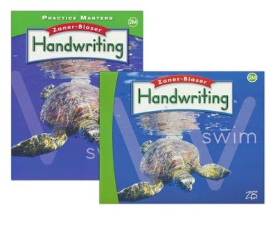 Zaner-Bloser Handwriting Grade 2M: Student Edition & Practice Masters (Homeschool Bundle -- 2016 Edition)  -