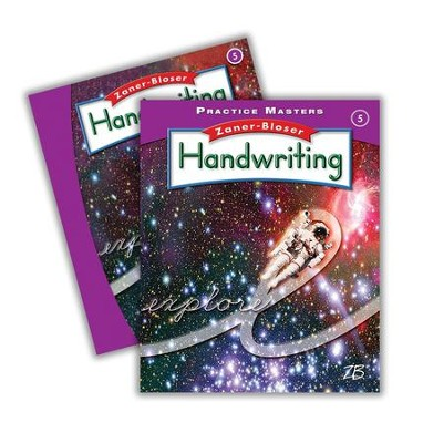Zaner-Bloser Handwriting Grade 5: Student Edition & Practice Masters (Homeschool Bundle -- 2016 Edition)  -