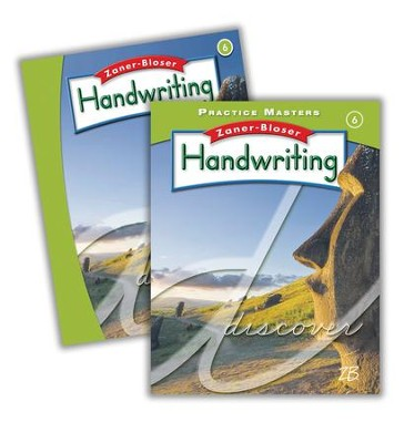 Zaner-Bloser Handwriting Grade 6: Student Edition & Practice Masters (Homeschool Bundle -- 2016 Edition)  -