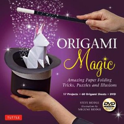 Origami Magic Kit: Amazing Paper Folding Tricks, Puzzles and Illusions  -     By: Steve Biddle, Megumi Biddle