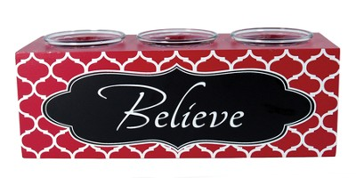 Believe Votive Holder  -