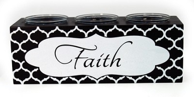 Faith Votive Holder  -