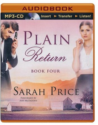 #4: Plain Return - unabridged audio book on MP3-CD  -     Narrated By: Amy McFadden     By: Sarah Price
