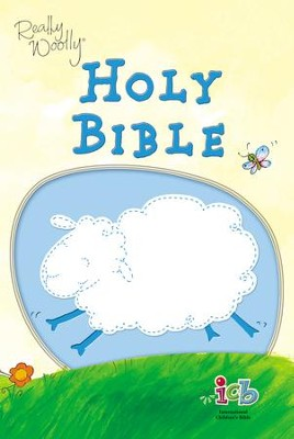 ICB Really Woolly Bible, Blue     -