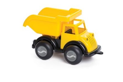 Dump Truck, Black and Yellow  -