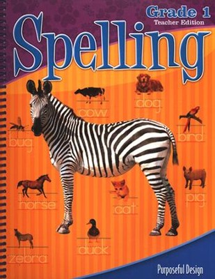 ACSI Spelling Grade 1 Teacher's Guide Revised   -