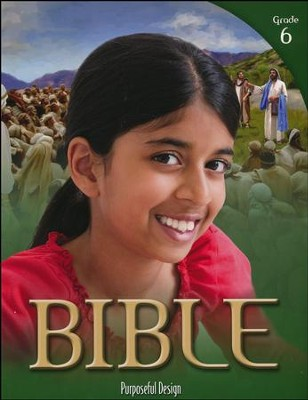 ACSI Bible Grade 6 Student Book, Revised Edition   -