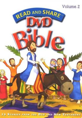 Read and Share DVD Bible Volume #2  -     By: Gwen Ellis
