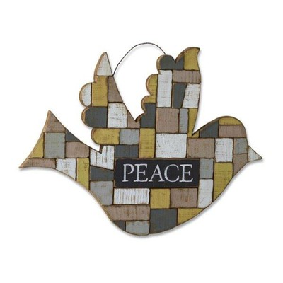 Bird of Peace, Wall Art  -     By: Holly Christine Moody