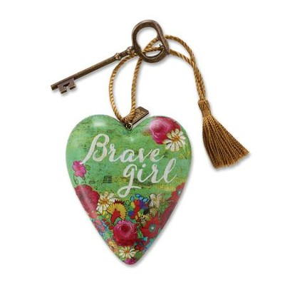Brave Girl, Art Heart  -     By: Melody Ross