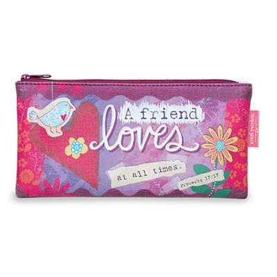 A Friend Loves Pouch, Large  -