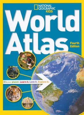 National Geographic Kids World Atlas  -     By: National Geographic