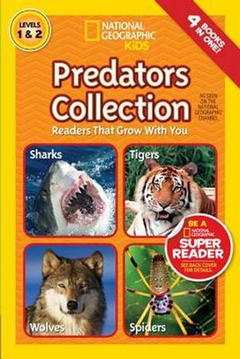 National Geographic Readers: Predators Collection  -     By: National Geographic