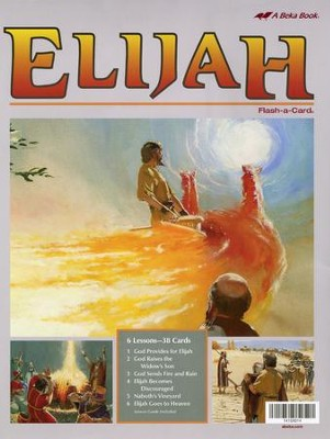 Elijah Flash-a-Card Set   -