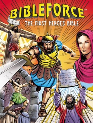 BibleForce: The First Heroes Bible - Slightly Imperfect  -