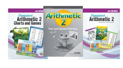 Abeka Grade 2 Homeschool Parent Arithmetic Kit (Revised  Edition)  -