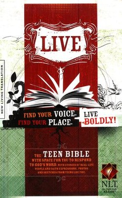 Live NLT, Softcover  -