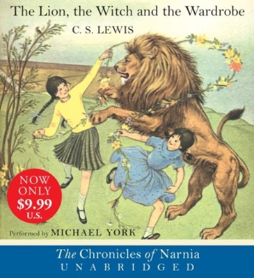 The Lion, the Witch and the Wardrobe Movie Tie-In Edition, Low Price CD, Unabridged  -     By: C.S. Lewis, Michael York