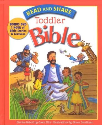 Read and Share Toddler Bible with DVD  -     By: Gwen Ellis