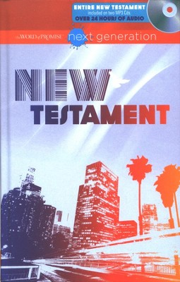 The Word of Promise Next Generation New Testament with MP3 CD-ROMs  -
