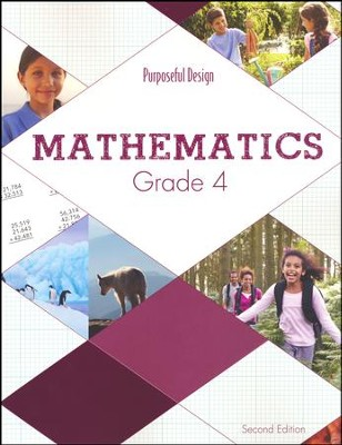 ACSI Math Student Textbook, Grade 4 (2nd Edition)  -