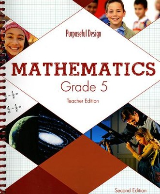 ACSI Math Grade 5 Teacher's Edition (2nd Edition)  -