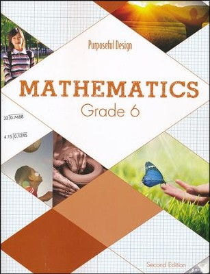 ACSI Math Grade 6 Student Textbook (2nd Edition)  -