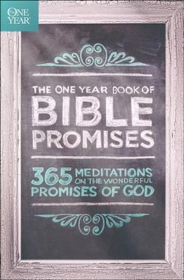 The One Year Book of Bible Promises   -     By: James Stuart Bell