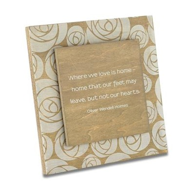 Love is Home Plaque  -
