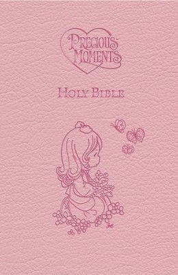 ICB Precious Moments Holy Bible - Pink Edition - Slightly Imperfect  -