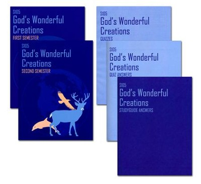 Landmark Freedom Bapt. Science S105 God's Wonderful Creations Gr 1    -
