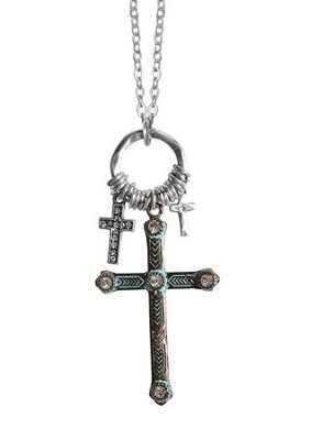 Mixed Crosses Necklace  -