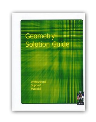 Landmark's Freedom Baptist Math P950 Geometry Solution Gd, Gr. 10    -