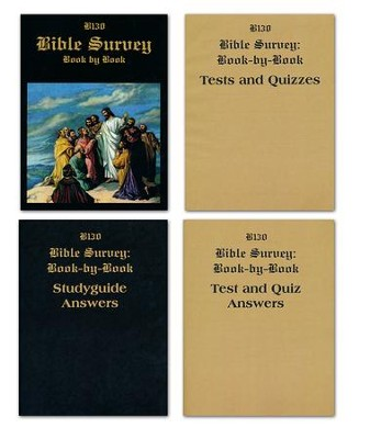 Landmark's Freedom Baptist B130 Bible Survey Book-by-Book, Grade 6   -