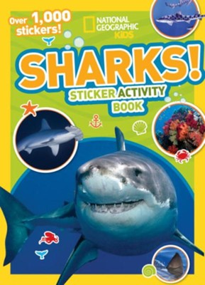 National Geographic Kids Sharks Sticker Activity Book  -     By: National Geographic Kids