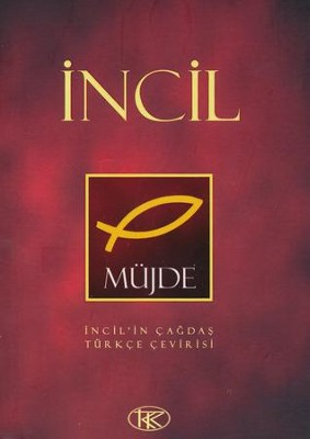 Turkish New Testament : Incil, United Bible Society Text, Paperback  -     By: Turkish Bible Society